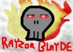 A skull On Fire