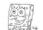 Sketchy SpongeBob
