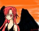 My black winged angel=Allen