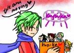 I made about Kupika's moving~ ^___^