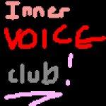 Inner voice club logo...