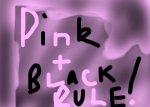pink n black rule?