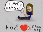 Toki Loves Candy