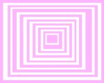 Pink & White Square