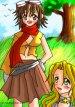 FROZEN HEART CAST= Kiraii and Maiha