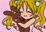 Girl with a Bunny
