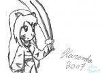 Inuyashima and sword