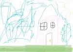 My kid drawing