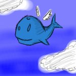 Flying Whale!