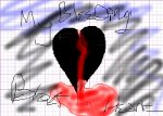 my bleeding black heart