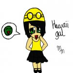 Chibi Hawaii girl