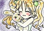 """Girl LOOOOOOOVVVVVEEEEESSSS her """"bunny"""""""