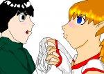 Im sorry.. (Rock Lee/Kasumi)