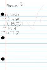 marcus' homework
