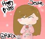 B-day present for my JessiePie >w