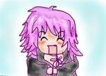 Marluxia doodle or -my first Oekaki-