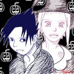Happy Halloween from Sasuke and Sakura
