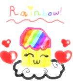 Rainbow Cupcakeeee!~~~