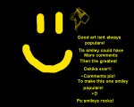 Smiley is lonely..Comments pwease!!!!