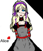 Alice In Wonderland [[Goth/Punk/Emo Style]]
