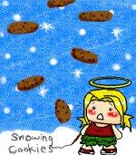 Snowing Cookies D:!