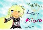 Mello's Love Kiara (Death Note)