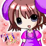 digi charat: purple (creation by chocola)