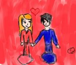 Aiki and gabe-EPIC FAIL!! DX:request for aiki