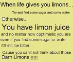 Limonade? What were you thinking?