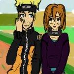 Um... Naruto and oc doodle?