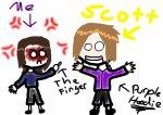 Silly Scott........