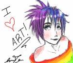 I love art.