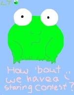 WIP. Lil Froggie