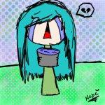 i think i'm gonna need a bigger bucket. ;A;