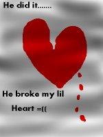 Broken heart =((