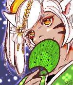 kitsune lady