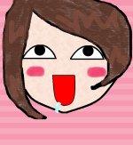 Miyu thinking in Miku :Q___