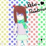 Retro-Rainbows Art Trade (: ♥
