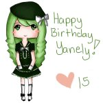 Happy Birthday Yanely!