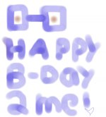 Happy B-day to mee...