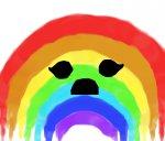 Sad rainbow D: