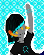 Shitty doodle of my FanTroll.